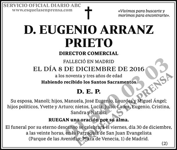 Eugenio Arranz Prieto